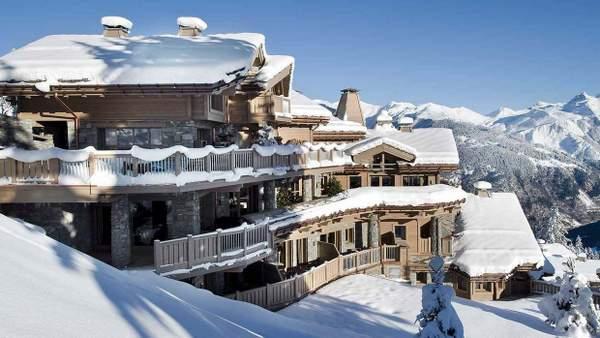 K2 palace hôtel à Courchevel